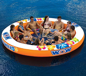best-inflatable-floating-island