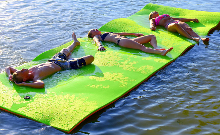 floating water mat reviews